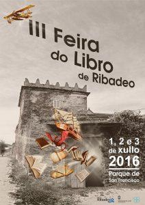cartel feira libro ribadeo 2016