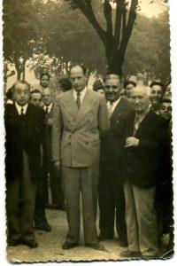 Carlos Pío de Habsburgo-Lorena y Borbón (Mondoñedo, 1949). Fotog. xentileza de Mª Celina Cruz