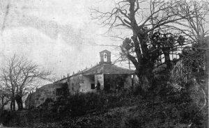 Capela de San Ramón (Viloalle) Fotog.: Santiago Pernas (Vida gallegan, nº 229 , 25 de xullo de 1923.