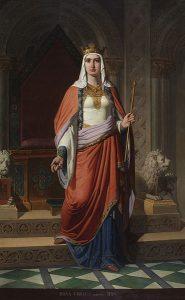 Dona Urraca, Museo do Prado (Carlos Múgica, 1857)