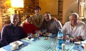Familiares de Siervo González e Graciano Paz