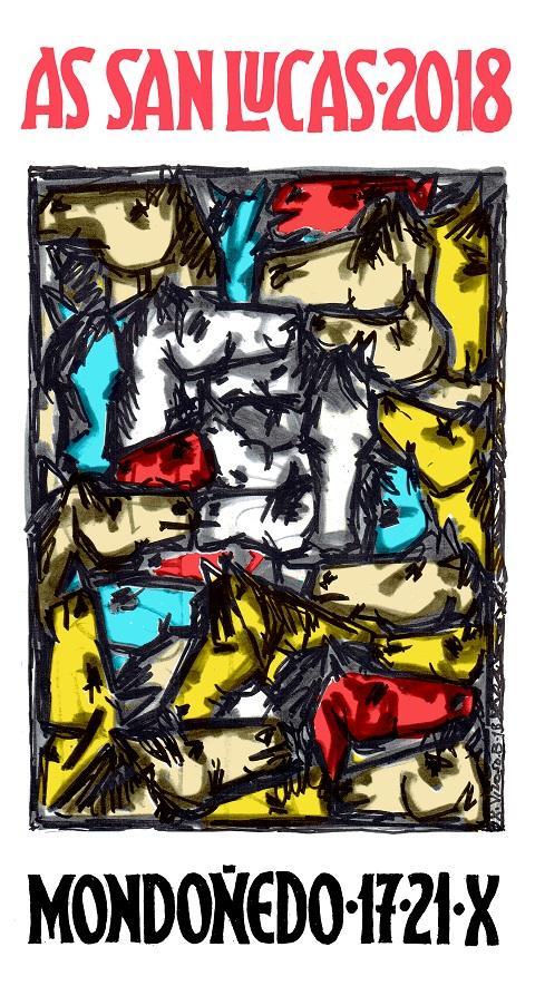 Cartel de Xosé Vizoso