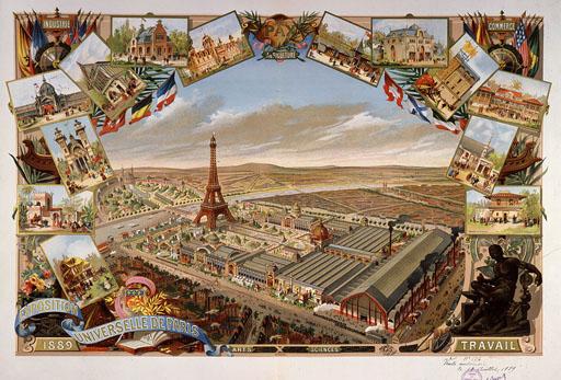 Exposición Universal. París, 1889.